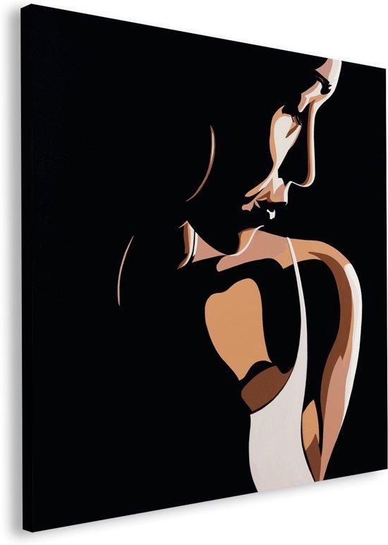 Reinders Schilderij Erik DeAndre - shadows and light - Oversize - 115 x 115 cm - no. 22099