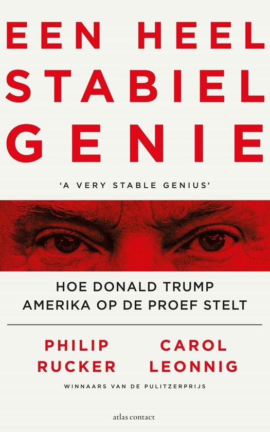 Boek cover Een heel stabiel genie van Philip Rucker (Onbekend)