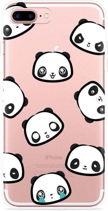 iPhone 7 Plus Hoesje Panda Emotions