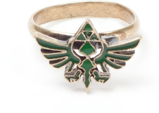 The Legend of Zelda Ring  - Unisex - Metaal - One-size