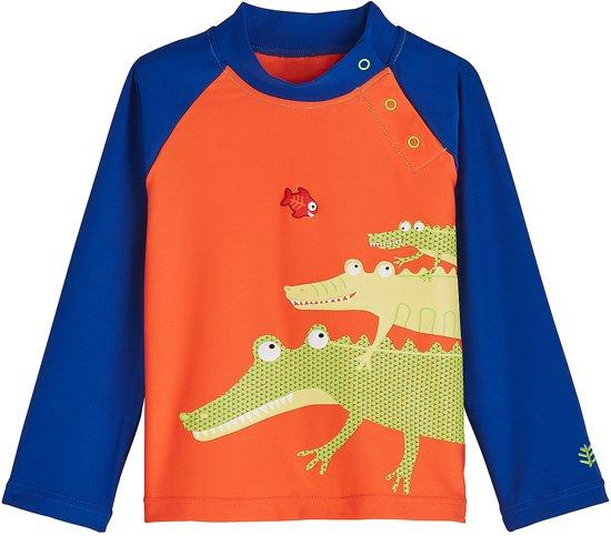 118038ab7a33d8 Coolibar UV zwemshirt Baby´s Gracious Gators - Oranje - Maat 2 jaar
