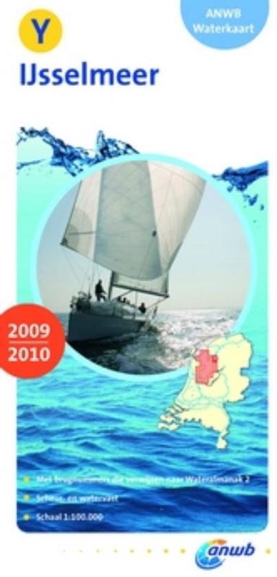 ANWB waterkaart / Y IJsselmeer 2009-2010