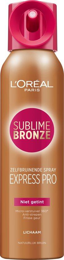 L'Oréal Paris Sublime Bronze Zelfbruinende Body Spray - Lichaam - 150 ml - Zelfbruiner
