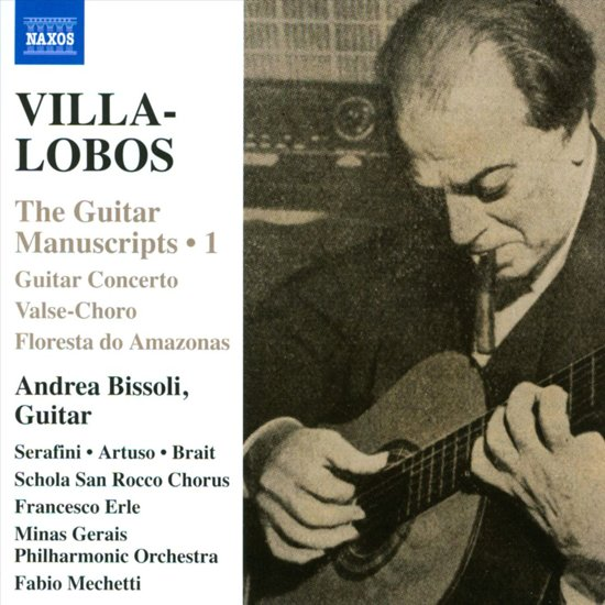 Villa-Lobos-The Guitar Manuscripts, Vol I