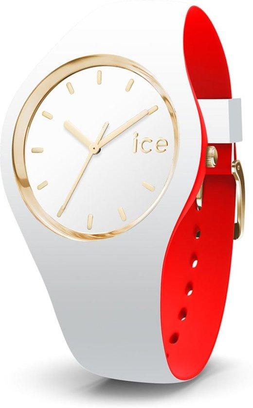 Ice-Watch IW007229 Horloge - Siliconen - Wit - Ø35,5mm
