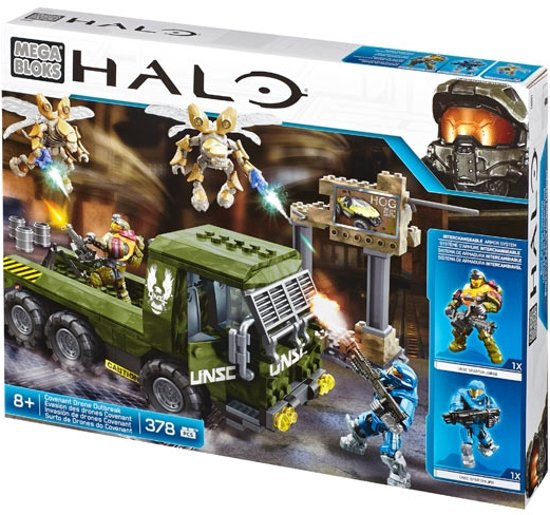 Halo Covenant Drone Outtbreak