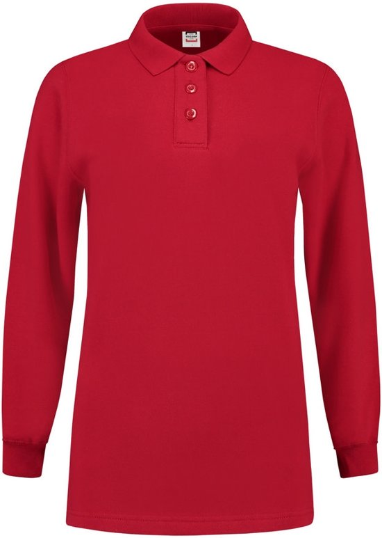Tricorp Dames polosweater - Casual - 301007 - Rood - maat XXL