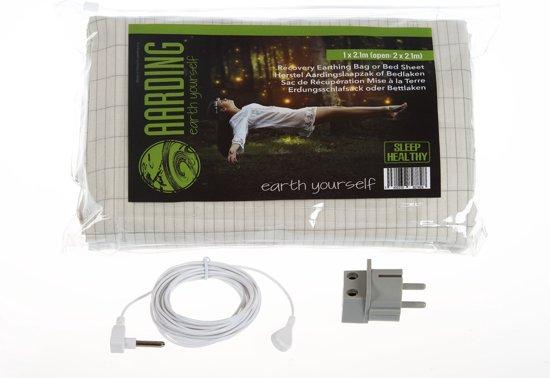 Aardingslaken - Recovery Bag  1 pers. 100x210 cm (set incl. kabel 5 m en adapter)