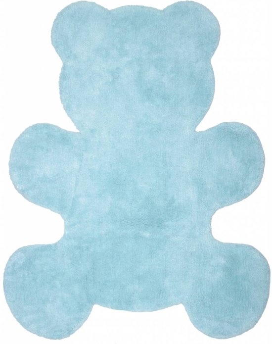 bol | vloerkleed babykamer blauw voor jongen - 100x80 cm, Deco ideeën