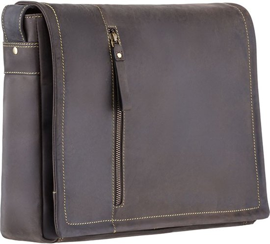 Xl 16073 Bag Messenger Foster Leather Hunter Visconti FxfqwZFTt