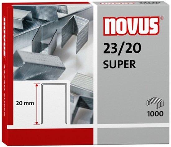 nietjes Novus 23/20 super doos à 1000 stuks