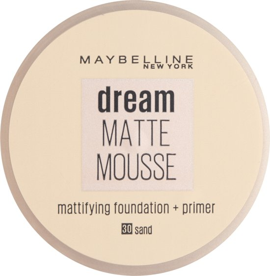 Maybelline Dream Matte Mousse -  030 Sand - Foundation