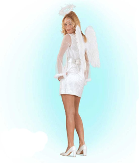 Engel kostuum voor dames 38 (m)