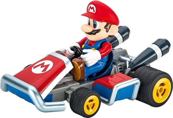 carrera rc mario kart 7 mario bestuurbare auto. Black Bedroom Furniture Sets. Home Design Ideas