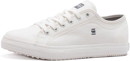 huge discount d7f0b 13016 G-Star Raw Kendo D04324 Witte Heren Sneakers - Herenschoenen - Maat 40