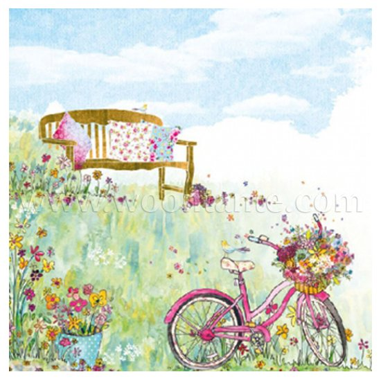 Vintage Papier Servetten - Spring Flowers - Decoupage - 20 stuks