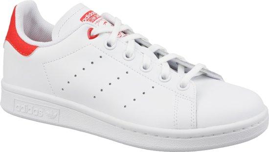 Adidas Stan Smith J Wit / Rood