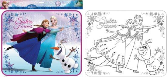 Mooie Kleurplaten Frozen.Bol Com Frozen Zonneschermen Met Kleurplaat
