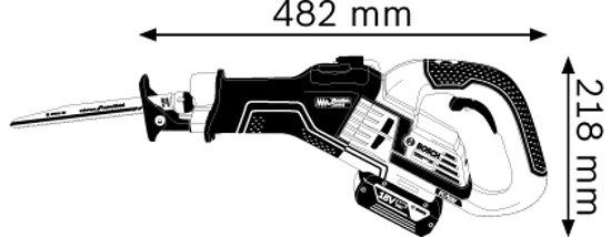 Accu reciprozaagmachine GSA 18V-32 (Zonder accu / lader + 1X S1156XHM + 5X S1130CF)