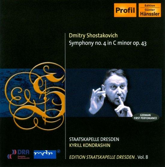 Shostakovich: Symphony No.4 1-Cd