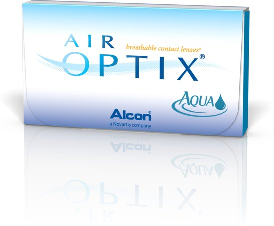 -3,75 Air Optix Aqua - 6 pack - Maandlenzen - Contactlenzen