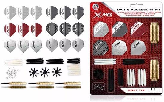 Xq Max Softtip Accessoiresset 18 Gram 90-delig