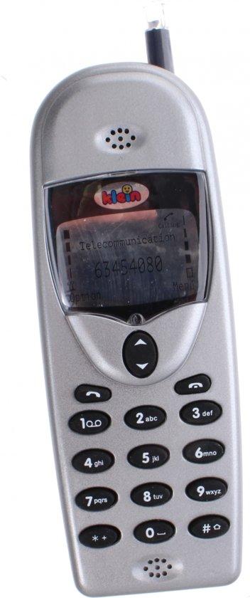 f89bb839a86 Klein Mobiele Telefoon Met Geluid 12 Cm Grijs