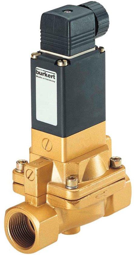 G1/2'' 230V AC Messing Magneetventiel NBR 0.2-10bar - Burkert 5282 134433 - 134433