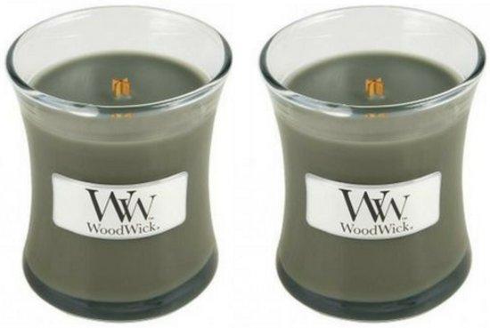 WoodWick® Mini Candle Evening Bonfire 2 stuks