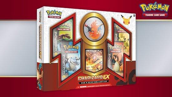 Afbeelding van het spel 20th Anniversary Red & Blue Collection - Charizard EX *U.S. editie*