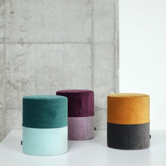 Hedendaags bol.com | Oot-Oot Studio Poef POP 40, stoffen ICOON (fluweel CX-31