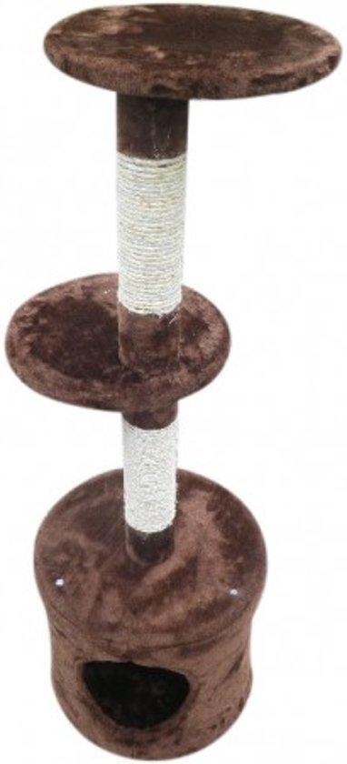 Topmast Krabpaal Athena Bruin 30 * 30 * 110 cm