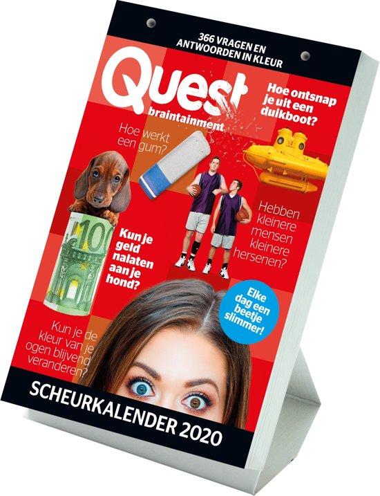 Afbeelding van QUEST Scheurkalender 2020