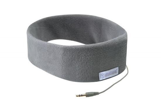 SleepPhones® Classic Fleece Grijs - Small/Extra Small in Nijbuorren