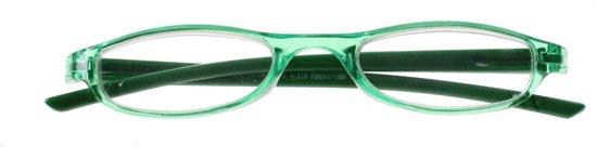 Lifetime-vision Leesbril Unisex Groen Sterkte +3.50