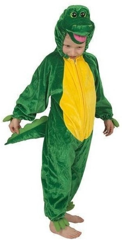Krokodil kinder kostuum pluche 128