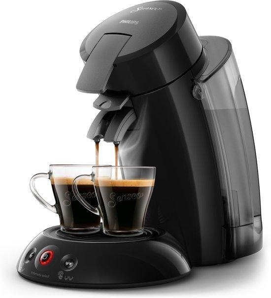 Senseo HD6555 Vrijstaand Half automatisch Koffiepadmachine 1.2l 8kopjes Zwart