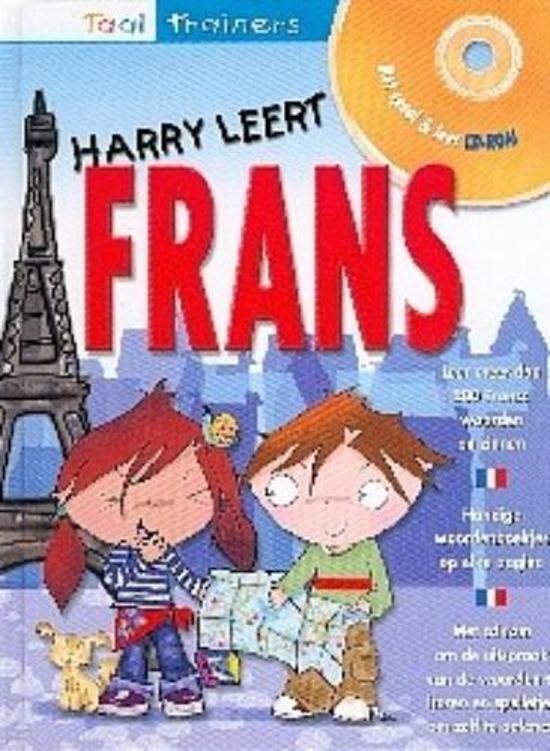 Cover van het boek 'Harry leert frans' van Sue Finnie en D. Bourdais