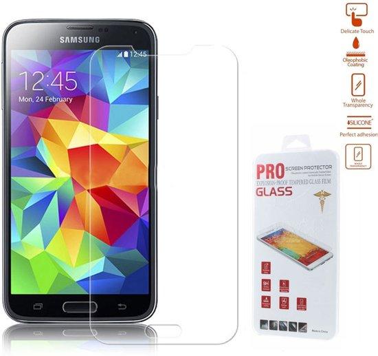 efabc3705 Shop4 - Samsung Galaxy S5 Mini - Glazen Screenprotector Gehard Glas  Beschermfolie Tempered Glass