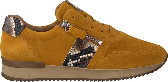 Gabor Dames Sneakers 420 - Geel - Maat 39