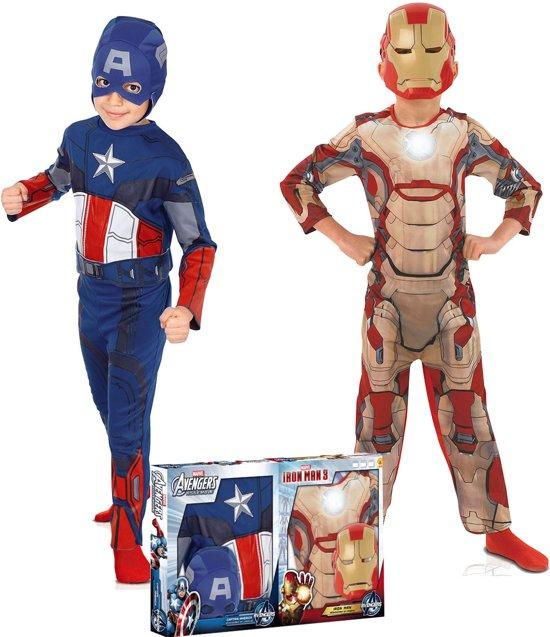 Verbazingwekkend bol.com   Captain America   en Iron Man   kostuum jongens OL-55