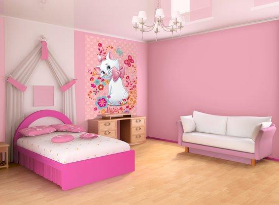 Behang Kinderkamer Roze : Bol.com disney marie behang 206x275cm