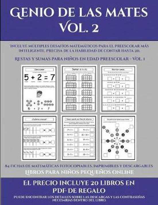 Libros Para Ninos Pequenos Online (Genio De Las Mates Vol. 2)
