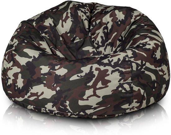 Fatboy Zitzak Camouflage.Complete Zitzakken Globos Giftfinder