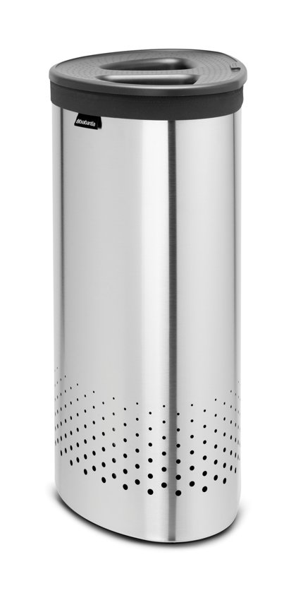 Brabantia Wasbox 30 Liter Matt Steel.Brabantia Selector Wasmand 55 L Matt Steel