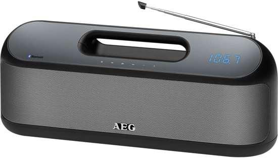 AEG Bluetooth speaker met radio SR 4842 BTS zwart