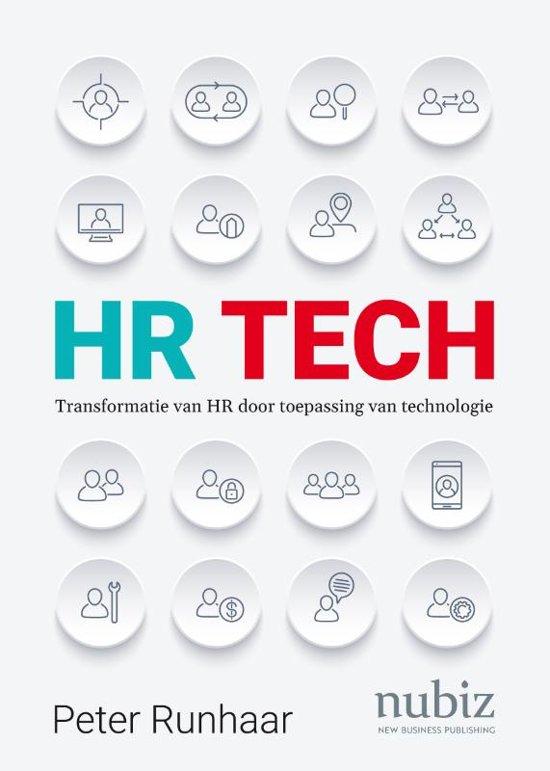 Boek cover HR Tech van Peter Runhaar (Paperback)