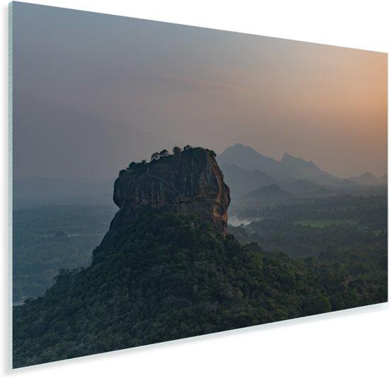 De Lion Rock tijdens zonsondergang Plexiglas 60x40 cm - Foto print op Glas (Plexiglas wanddecoratie)