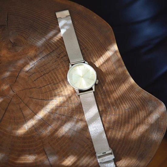 Komono Winston Royale Silver Horloge