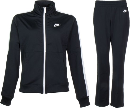 dc4b7c0441d Nike Sportswear Trainingspak Dames Trainingspak - Maat L - Vrouwen -  zwart/wit